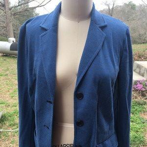 Talbots's blue/black blazer